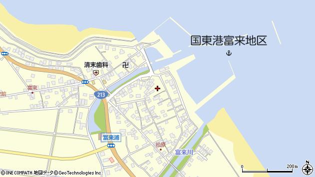 大分県国東市国東町富来浦2160周辺の地図