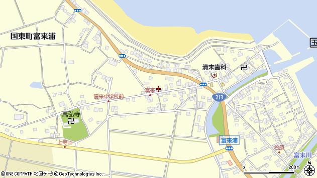 大分県国東市国東町富来浦1908周辺の地図