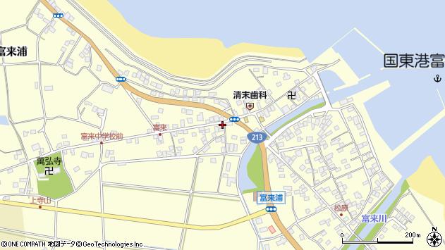 大分県国東市国東町富来浦1405周辺の地図