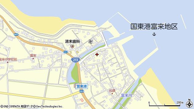 大分県国東市国東町富来浦2142周辺の地図