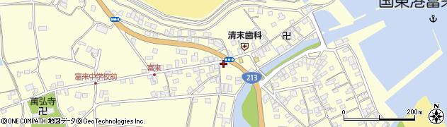 大分県国東市国東町富来浦1425周辺の地図