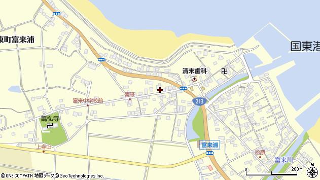 大分県国東市国東町富来浦1333周辺の地図