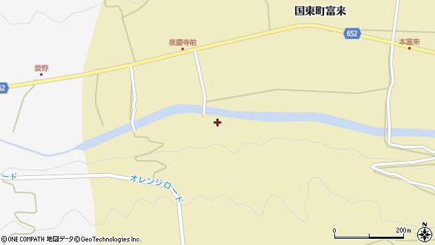 大分県国東市国東町富来2784周辺の地図