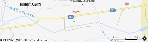 大分県国東市国東町大恩寺210周辺の地図