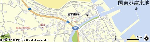 大分県国東市国東町富来浦1446周辺の地図
