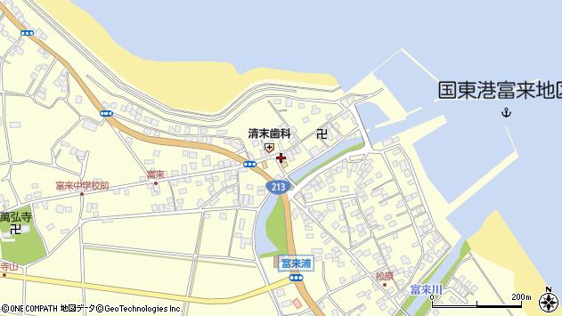 大分県国東市国東町富来浦1450周辺の地図