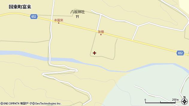 大分県国東市国東町富来743周辺の地図