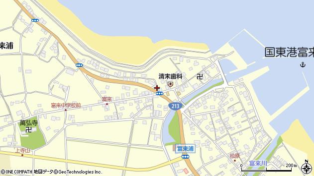 大分県国東市国東町富来浦1418周辺の地図