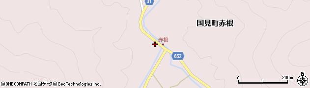 大分県国東市国見町赤根2013周辺の地図