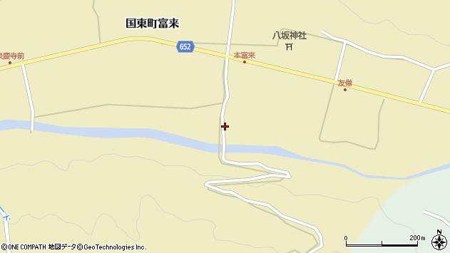 大分県国東市国東町富来2379周辺の地図