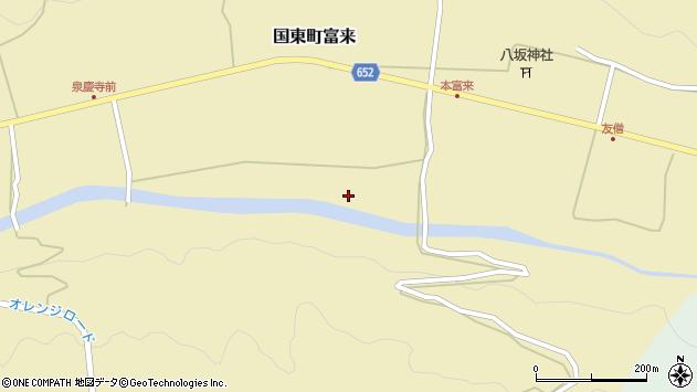 大分県国東市国東町富来2423周辺の地図