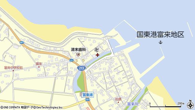 大分県国東市国東町富来浦1548周辺の地図