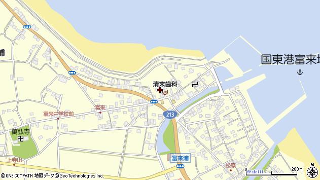 大分県国東市国東町富来浦1434周辺の地図