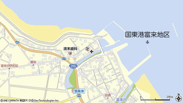 大分県国東市国東町富来浦1544周辺の地図