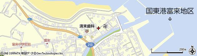 大分県国東市国東町富来浦1495周辺の地図