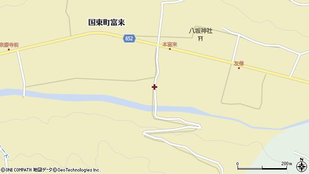 大分県国東市国東町富来2366周辺の地図