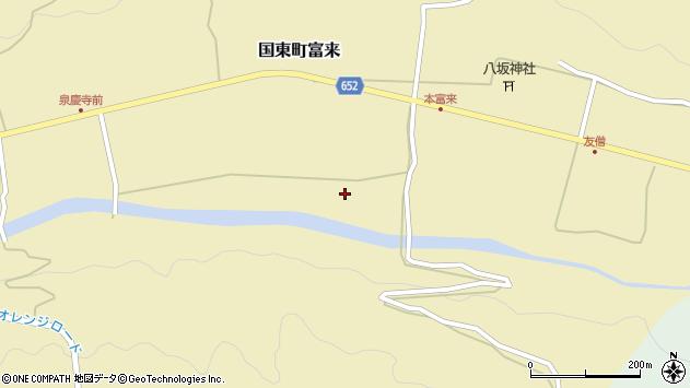 大分県国東市国東町富来2421周辺の地図