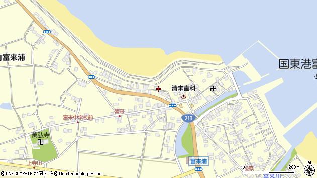 大分県国東市国東町富来浦1263周辺の地図