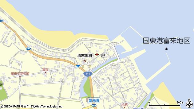 大分県国東市国東町富来浦1500周辺の地図