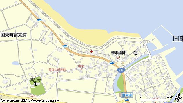 大分県国東市国東町富来浦1251周辺の地図