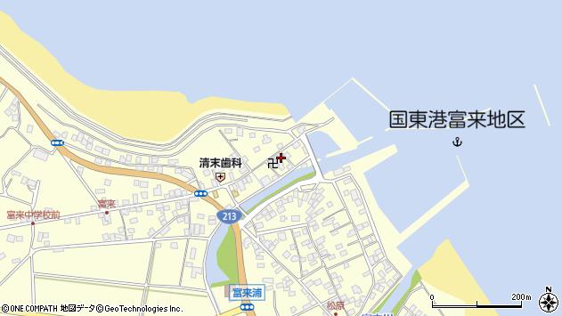 大分県国東市国東町富来浦1513周辺の地図