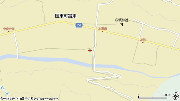 大分県国東市国東町富来2367周辺の地図