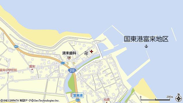 大分県国東市国東町富来浦1537周辺の地図