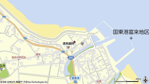大分県国東市国東町富来浦1493周辺の地図