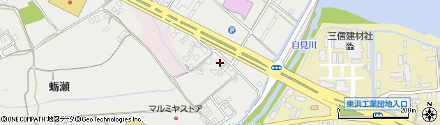 大分県中津市蛎瀬1144周辺の地図