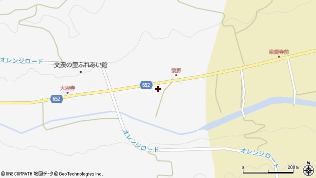大分県国東市国東町大恩寺524周辺の地図