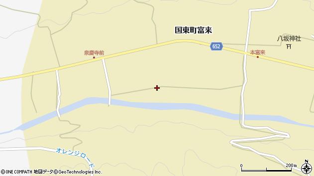 大分県国東市国東町富来2147周辺の地図