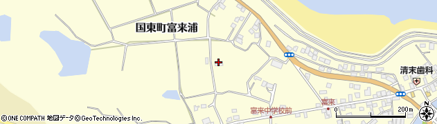 大分県国東市国東町富来浦1092周辺の地図