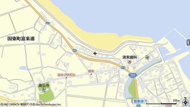 大分県国東市国東町富来浦1244周辺の地図