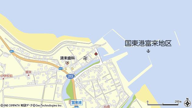大分県国東市国東町富来浦1525周辺の地図