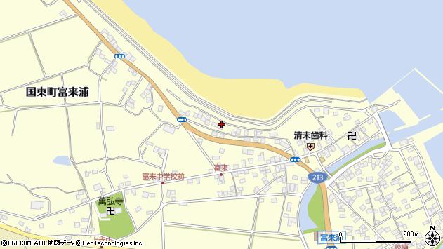 大分県国東市国東町富来浦1240周辺の地図