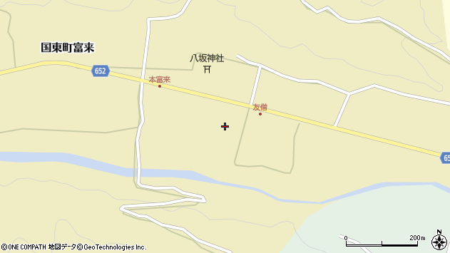 大分県国東市国東町富来2302周辺の地図
