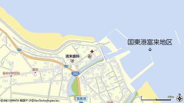 大分県国東市国東町富来浦1514周辺の地図