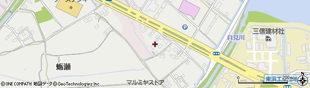大分県中津市蛎瀬1156周辺の地図