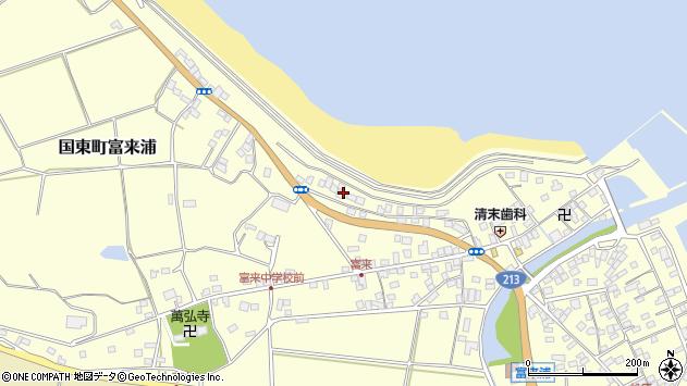 大分県国東市国東町富来浦1065周辺の地図