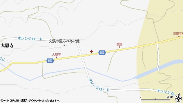 大分県国東市国東町大恩寺515周辺の地図