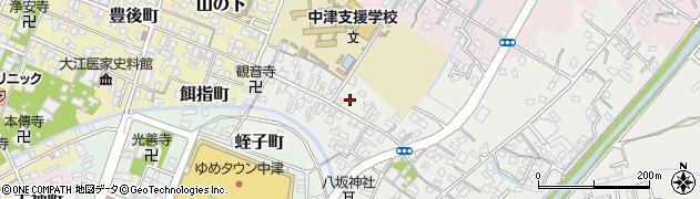 大分県中津市蛎瀬568周辺の地図