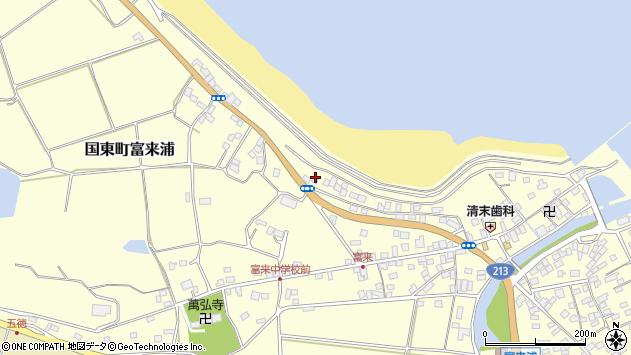 大分県国東市国東町富来浦1224周辺の地図