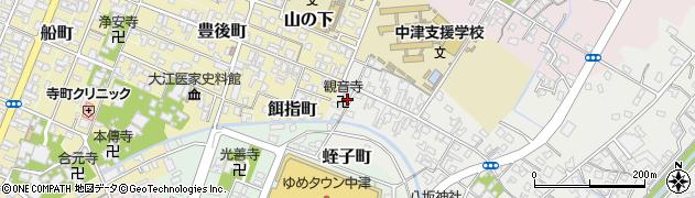 大分県中津市蛎瀬504周辺の地図