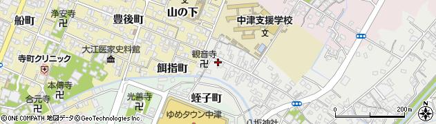 大分県中津市蛎瀬501周辺の地図