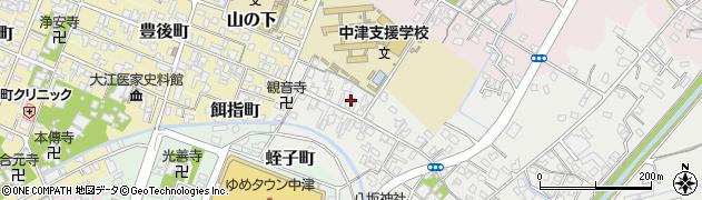 大分県中津市蛎瀬540周辺の地図