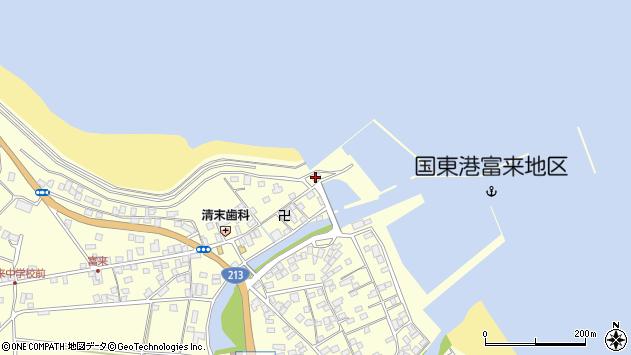 大分県国東市国東町富来浦1522周辺の地図