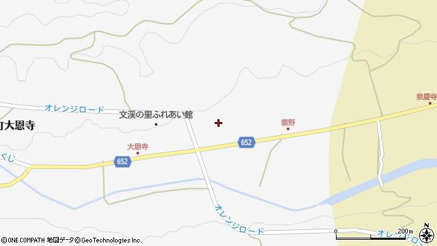 大分県国東市国東町大恩寺662周辺の地図