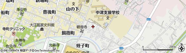 大分県中津市蛎瀬523周辺の地図