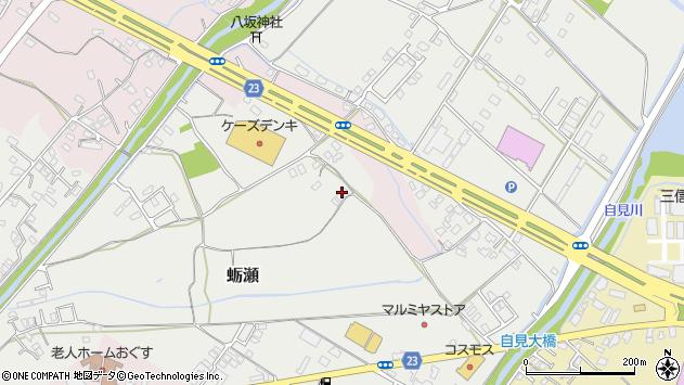 大分県中津市蛎瀬956周辺の地図