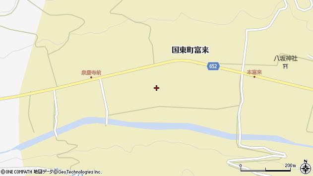 大分県国東市国東町富来2163周辺の地図
